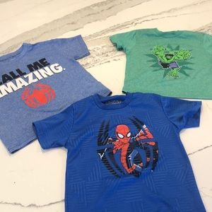 Lot of marvel t shirts